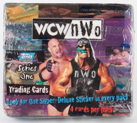1998 Topps WCW/NWO Series 1 Trading Cards Box with (24) Packs at PristineAuction.com