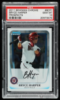 Bryce Harper 2011 Bowman Chrome Prospects #BCP1 (PSA 10) at PristineAuction.com