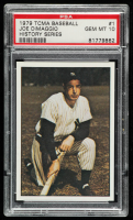 Joe DiMaggio 1979 TCMA 50'S #1 (PSA 10) at PristineAuction.com