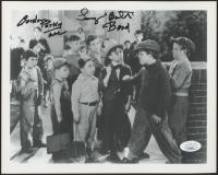 "Eugene Gordon Lee & Tommy Bond Signed ""Tiny Troubles"" 8x10 Photo Inscribed ""Porky"" & ""Butch"" (JSA COA) at PristineAuction.com"