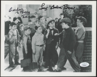 "Eugene Gordon Lee & Tommy Bond Signed ""Tiny Troubles"" 8x10 Photo Inscribed ""Porky"" & ""Butch"" (JSA COA) at PristineAuction.com"
