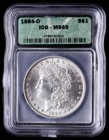1884-O Morgan Silver Dollar (ICG MS65) at PristineAuction.com