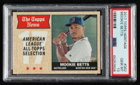 Mookie Betts 2017 Topps Heritage #362 TNAS (PSA 10) at PristineAuction.com