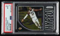 LeBron James 2019-20 Panini Prizm Get Hyped! #2 (PSA 9) at PristineAuction.com