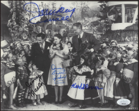 """""""The Wizard of Oz"""" 8x10 Photo Cast-Signed by (4) with Mickey Carroll, Jerry Maren, Karl Slover, & Donna Stewart Hardaway (JSA COA) at PristineAuction.com"""