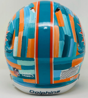 Tua Tagovailoa Signed Dolphins LE Full-Size Authentic On-Field Speed Helmet Hand-Painted Art by Charlie Turano III (Fanatics Hologram) at PristineAuction.com