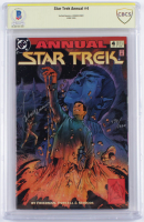 "Leonard Nimoy Signed LE 1993 ""Star Trek Annual"" Issue #4 DC Comic Book (BGS Encapsulated) at PristineAuction.com"