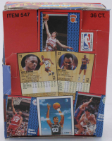 1991-92 Fleer Basketball Wax Box with (36) Packs at PristineAuction.com
