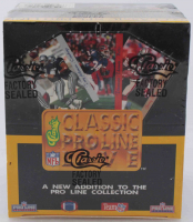 1993 Classic Proline Live Football Box with (36) Packs at PristineAuction.com