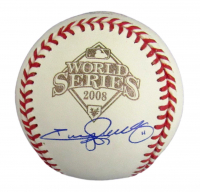 Jimmy Rollins Signed 2008 World Series Baseball (JSA COA) at PristineAuction.com
