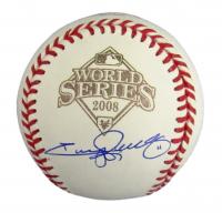 Jimmy Rollins Signed 2008 World Series Baseball (JSA COA) at PristineAuction.com