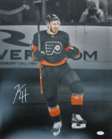 Kevin Hayes Signed Flyers 16x20 Photo (JSA COA) at PristineAuction.com