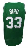 Larry Bird Signed Jersey (Beckett COA & Bird Hologram) at PristineAuction.com