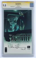 "Nathan Edmondson Signed 2011 ""The Activity"" Issue #1 Image Comic Book Inscribed ""2014"" (CGC 9.8) at PristineAuction.com"