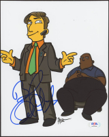 """Bob Odenkirk Signed """"The Simpsons"""" 8x10 Photo (PSA COA) at PristineAuction.com"""