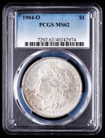 1904-O Morgan Silver Dollar (PCGS MS62) at PristineAuction.com