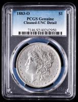 1883-O Morgan Silver Dollar (PCGS UNC Details) at PristineAuction.com
