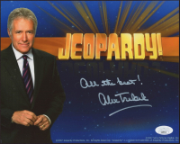 "Alex Trebek Signed ""Jeopardy"" 8x10 Photo Inscribed ""All The Best"" (JSA COA) at PristineAuction.com"