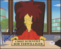 """Kelsey Grammer Signed """"The Simpsons"""" 8x10 Photo (PSA COA) at PristineAuction.com"""