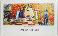 "Tom Everhart ""The Last Supper"" Peanuts 24x38 Poster at PristineAuction.com"