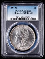 1884-O Morgan Silver Dollar (PCGS UNC Details) at PristineAuction.com