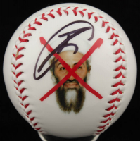 "Robert O'Neill Signed ""Osama Bin Laden"" Baseball (PSA COA) at PristineAuction.com"