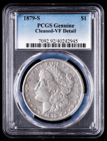 1879-S Morgan Silver Dollar (PCGS VF Details) at PristineAuction.com