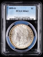 1899-O Morgan Silver Dollar (PCGS MS63) at PristineAuction.com