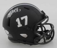 Davante Adams Signed Packers Matte Black Speed Mini Helmet (Beckett COA) at PristineAuction.com