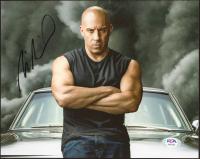 Vin Diesel Signed 8x10 Photo (PSA COA) at PristineAuction.com