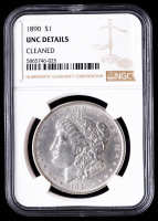 1890 Morgan Silver Dollar (NGC UNC Details) (Cleaned) at PristineAuction.com