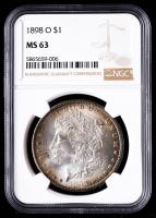 1898-O Morgan Silver Dollar (NGC MS63) (Toned) at PristineAuction.com