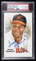 Frank Robinson Signed LE Orioles Post Card (PSA Encapsulated) at PristineAuction.com