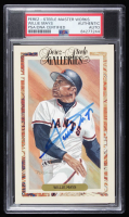 Willie Mays Signed LE Perez Steele Card (PSA Encapsulated) at PristineAuction.com