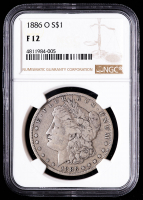 1886-O Morgan Silver Dollar (NGC F12) at PristineAuction.com