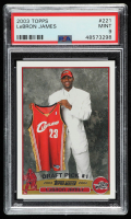 LeBron James 2003-04 Topps #221 RC (PSA 9) at PristineAuction.com