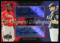 Conor Jackson / Ryan Howard 2006 Topps Co-Signers Dual Autographs #CS62 at PristineAuction.com