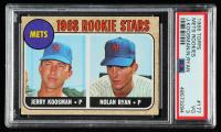Jerry Koosman RC / Nolan Ryan RC 1968 Topps #177 Rookie Stars (PSA 3) at PristineAuction.com