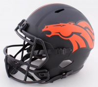 John Elway Signed Broncos Full Size Eclipse Alternate Speed Helmet (Beckett COA) at PristineAuction.com