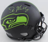 DK Metcalf Signed Seahawks Full-Size Authentic On Field Eclipse Alternate Speed Helmet (Beckett COA) at PristineAuction.com