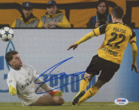 Christian Pulisic Signed Dortmund 8x10 Photo (PSA COA) at PristineAuction.com