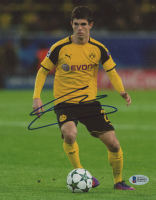 Christian Pulisic Signed Borussia Dortmund 8x10 Photo (Beckett COA) at PristineAuction.com