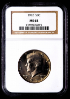 1972 Kennedy Half Dollar (NGC MS64) at PristineAuction.com