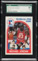 Michael Jordan 1989-90 Hoops #21 All-Star (SGC 9) at PristineAuction.com