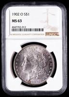 1902-O Morgan Silver Dollar (NGC MS63) at PristineAuction.com
