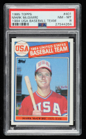 Mark McGwire 1985 Topps #401 OLY RC (PSA 8) at PristineAuction.com