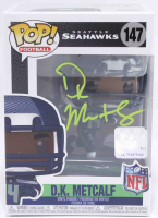 DK Metcalf Signed Seahawks #146 Football Funko Pop! Vinyl Figure (Beckett COA) at PristineAuction.com
