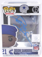 Deion Sanders Signed Cowboys #92 Funko Pop! Vinyl Figure (Beckett COA) at PristineAuction.com
