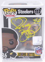 Jerome Bettis Signed Steelers #117 Funko Pop! Vinyl Figure (Beckett COA) at PristineAuction.com