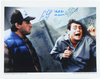 """Cam Neely Signed """"Dumb and Dumber"""" 11x14 Photo Inscribed """"Kick His A** Seabass"""" (COJO COA) at PristineAuction.com"""